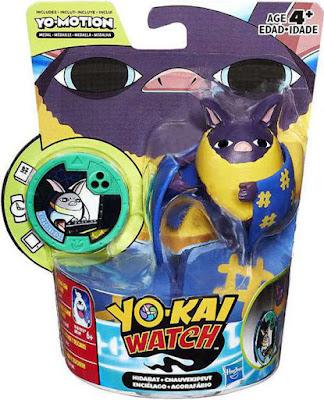 JUGUETES - YO-KAI WATCH Enciélago : Hidabat Figura - Muñeco + Medalla | Medal Moments Hasbro 2017 | Serie Televisión - Videojuego Comprar YOKAI en Amazon España