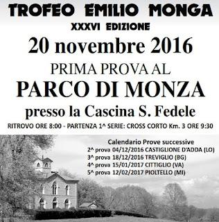 CLASSIFICA 2a Tappa Circuito Monga Castiglione d'Adda 2016