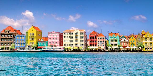 Willemstad capitale de Curacao