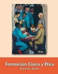 Libro de texto  Formación Cívica y Ética Segundo grado 2019-2020