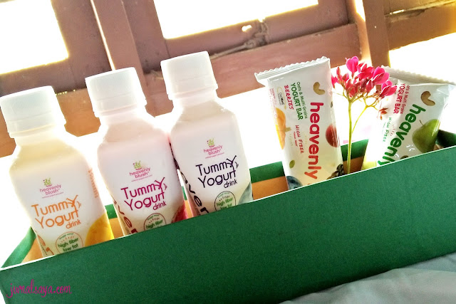 hampers dari heavenly blush yogurt