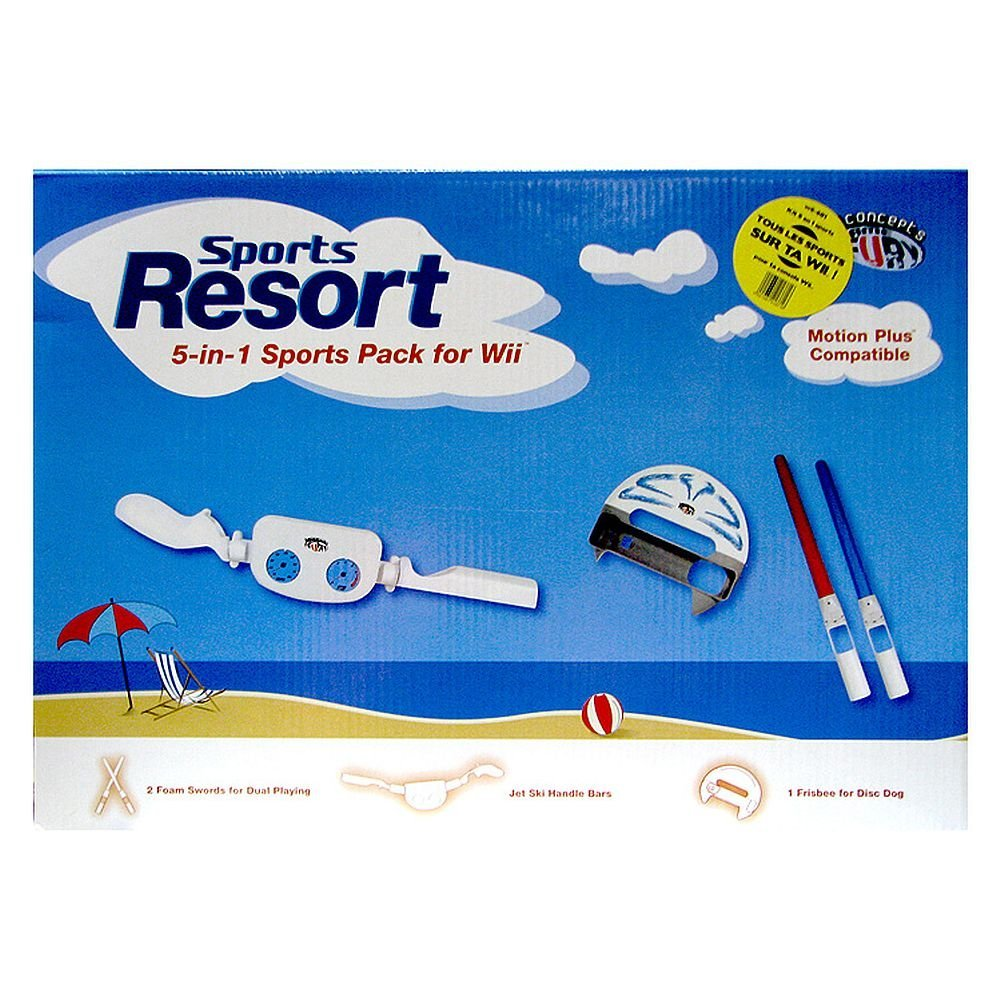 IConcepts 5-in-1 Sports Pack For Nintendo Wii $0.74 (Reg