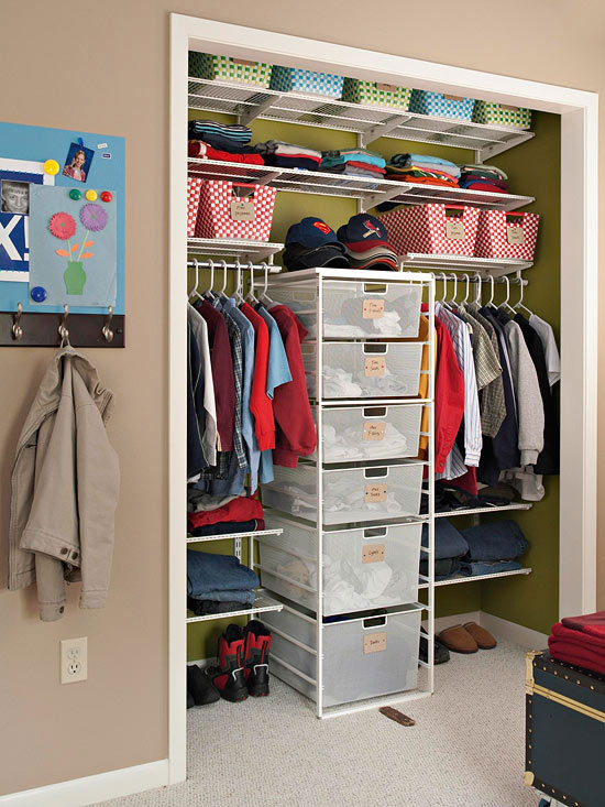closet maid shelving ideas - Easy Organizing Tips for Closets 2013 Ideas