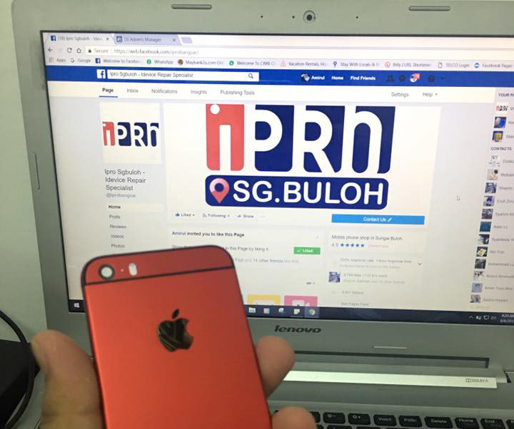 Servis Repair Motherboard iPhone Murah Pantas