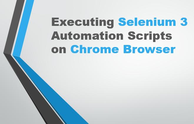 Selenium-By-Arun: Selenium 3 - Executing Selenium 3