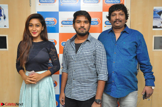 Shravya in skirt and tight top at Vana Villu Movie First Song launch at radio city 91.1 FM ~  Exclusive 01.JPG