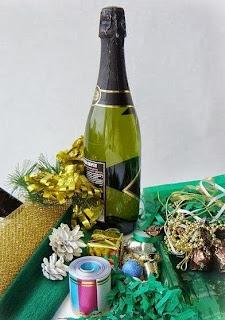 Como envolver una botella de regalo