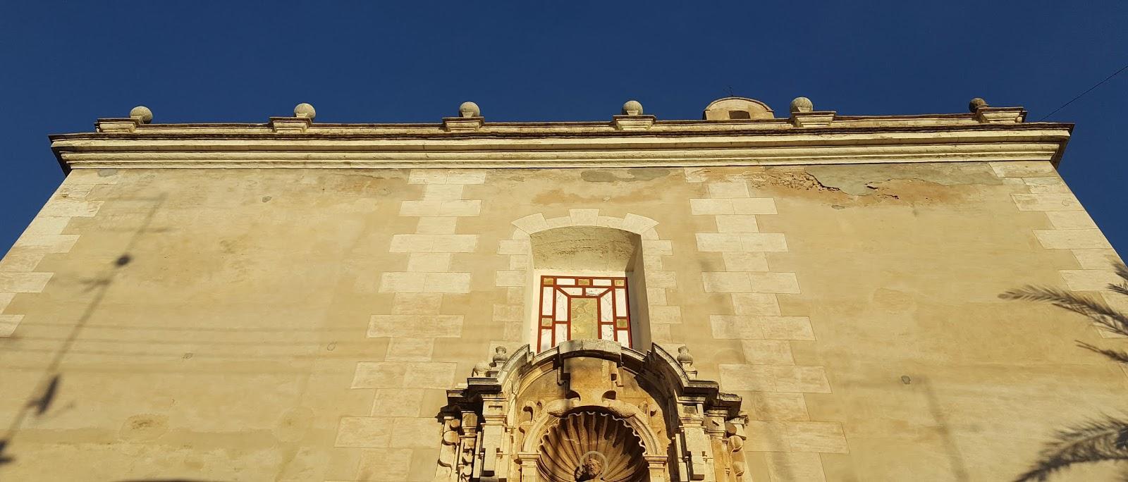 Façade of San Pedro Church, Albalat de la Ribera