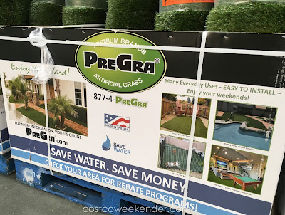 Costco 1027217 - PreGra FesCue Artifical Grass - great for droughts