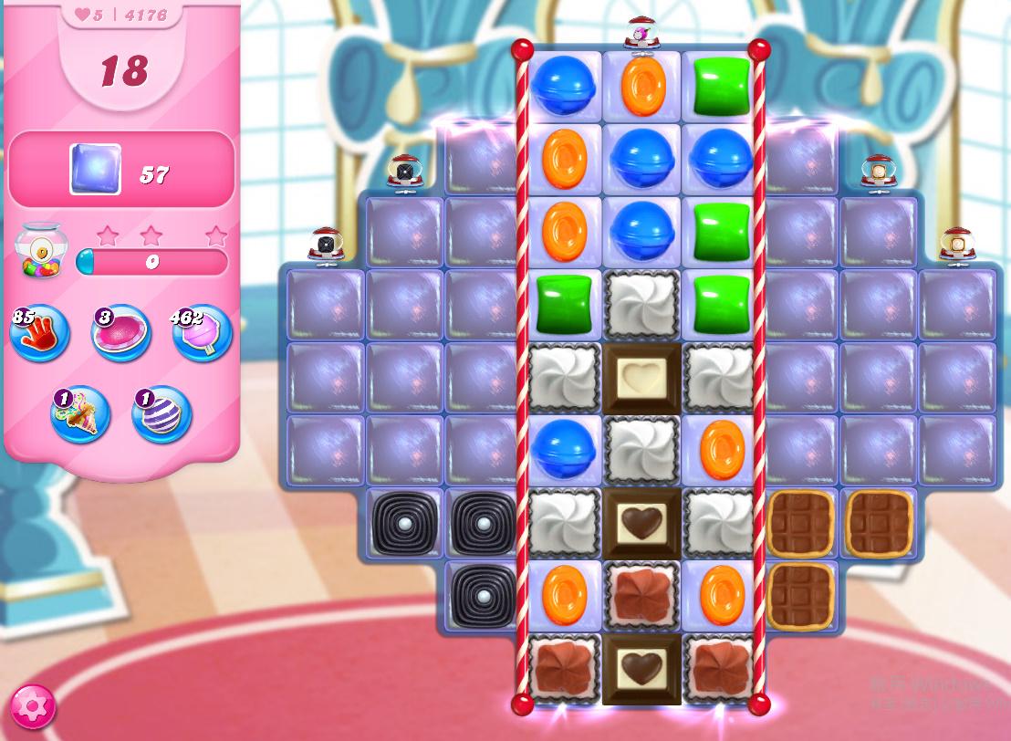 Candy Crush Saga level 4176