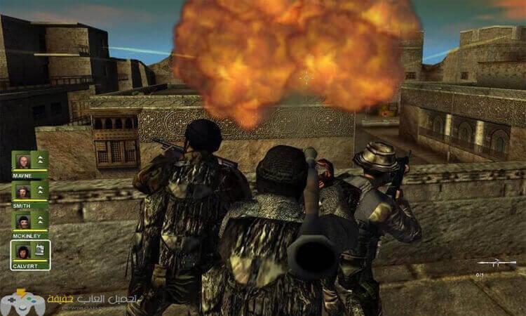 تحميل لعبة عاصفة الصحراء Conflict Desert Storm 2 مضغوطة