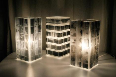 【動手做】電光幻影 以菲林底片設計的玩味夜燈