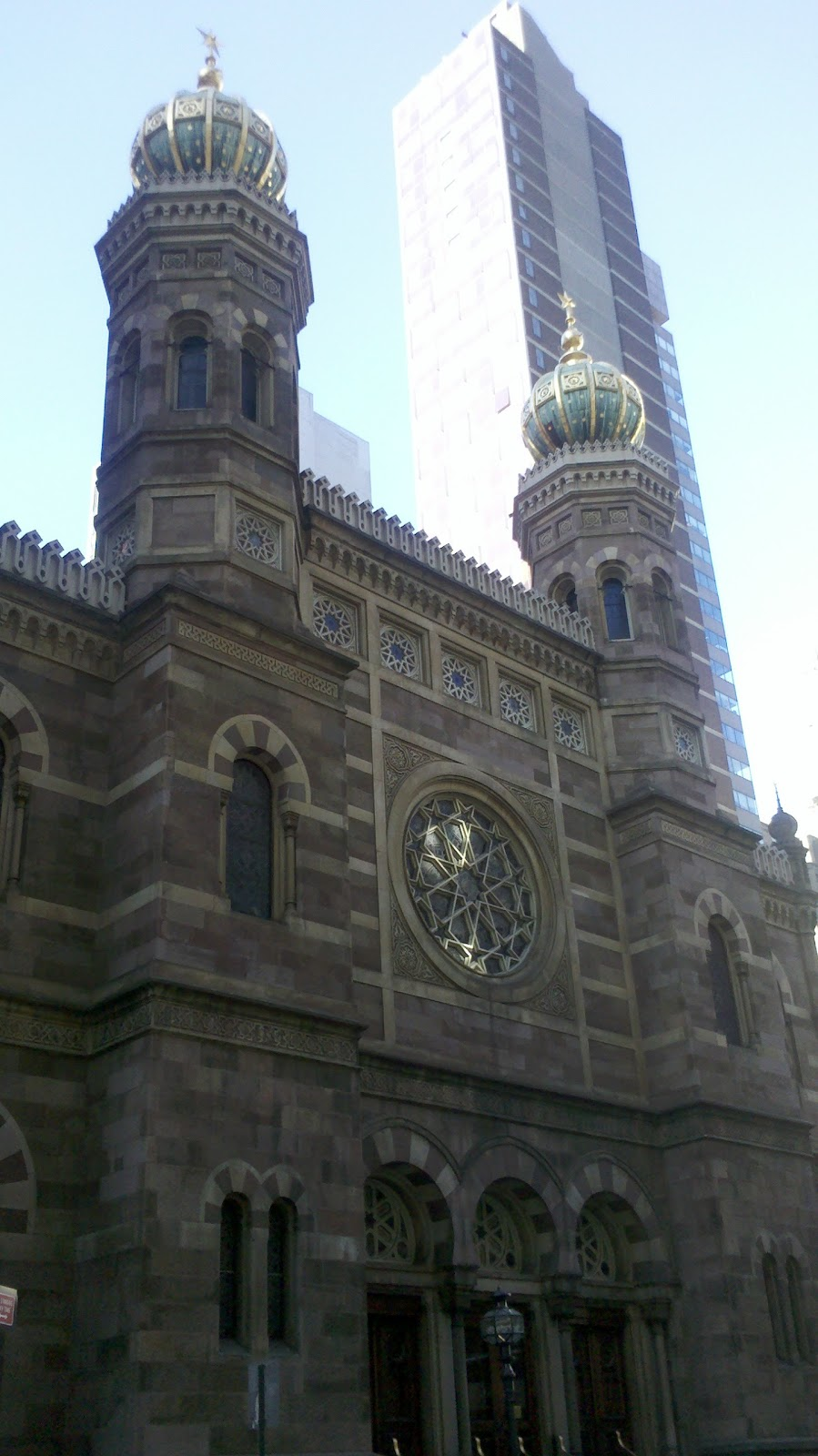 Unique To NYC: Central Synagogue: Lexington and 55th Street
