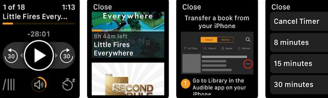 تطبيق Audible يجلب الكتب الصوتية إلى Apple Watch