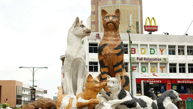 Kuching, la ciudad de los gatos | Malasia