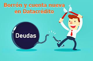 Borron y cuenta nueva 2020 en DataCredito, proyecto aprobado en el congreso