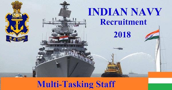 indian navy recruitment notification 2018