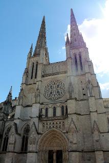 La catedral de San Andrés Burdeos