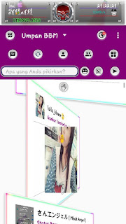 Download BBM Grape RainBow V3.1.0.13 Apk Terbaru