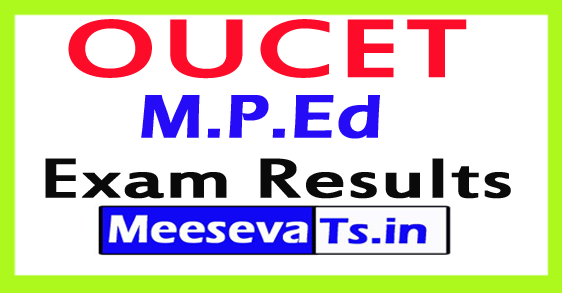 OUCET M.P.Ed Exam Results 2017