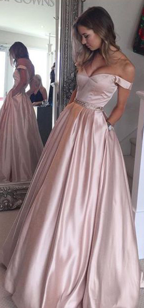 Silk Prom Dress Satin Beautiful #silk #prom #dress
