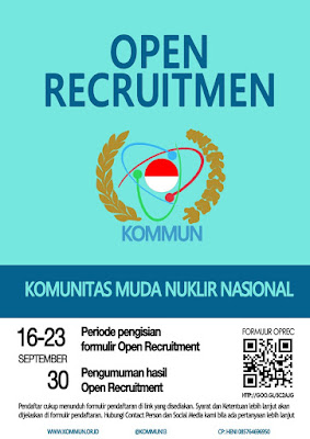 Open Recruitment KOMMUN 2013