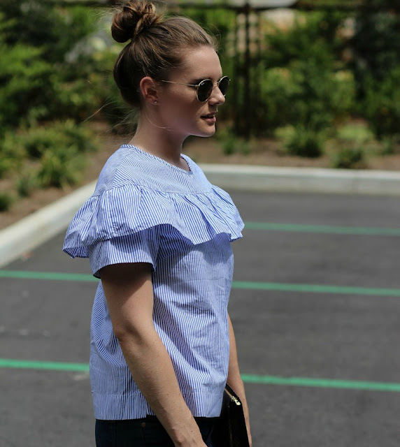 All the ruffle tops for fall