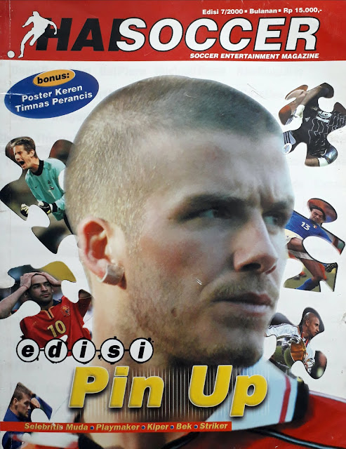 HAI SOCCER: EDISI PIN UP NO 7