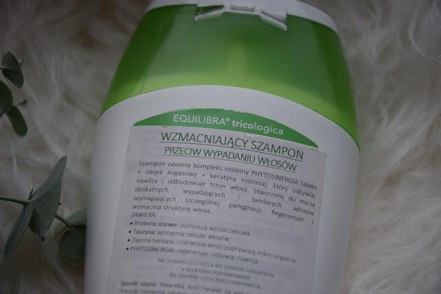 szampon aloesowy marki Equilibra