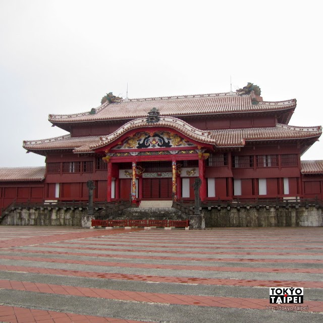 【首里城】到輝煌的宮殿 看琉球王國500年興衰