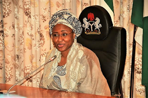 Nigerian's President Beautiful Wife,Mrs Aisha Buhari Honored As  Northern Wives Governors Forum