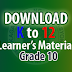 K to 12 Learning Materials for Grade 10 | Learner's Material for Grade 10