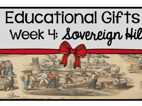9 Weeks of Educational Gifts: Week 4