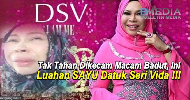 Tak Tahan Dikecam Macam Badut, Ini Luahan SAYU Datuk Seri Vida !!!