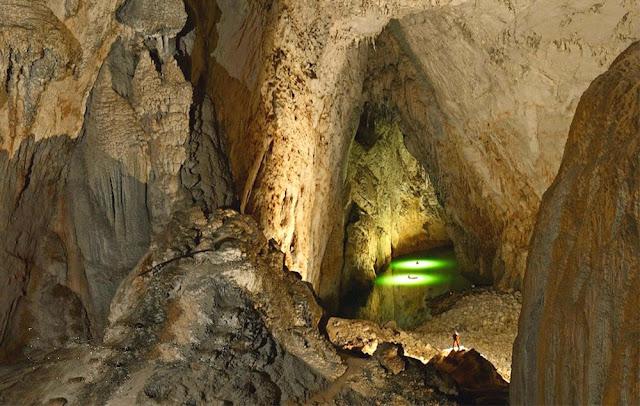Maior câmara subterrânea do mundo