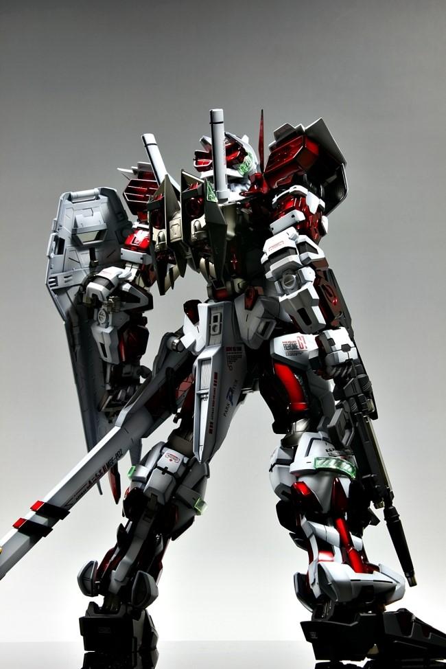 GUNDAM GUY: PG 1/60 MBF-P02 Gundam Astray [Red Frame ...
