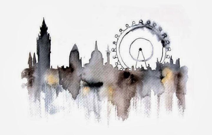 WATERCOLOR CITYSCAPE ILLUSTRATIONS BY ELENA ROMANOVA ...