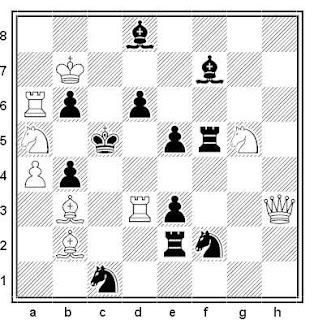 Problema de mate en 2 compuesto por Jose A. López Parcerisa (2º Recomendado, Memorial Petite 2015)