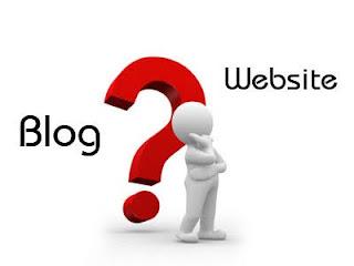 Pengertian Perbedaan Blog dengan Website