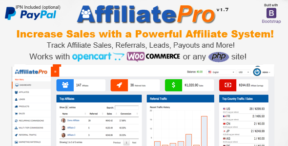 Affiliate Pro v 1.7 - Affiliate Management System - CodeCanyon