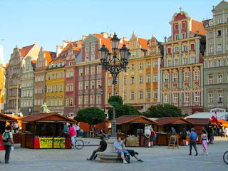 Beautiful Renek Old Town Main Square Wroclaw Poland
