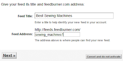 Cara Setting FeedBurner untuk optimasi SEO Blog