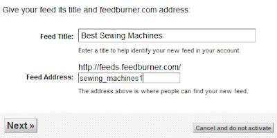 Cara Setting FeedBurner untuk optimasi SEO Blog