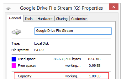 the serverless school: An early look at Google Drive File Stream