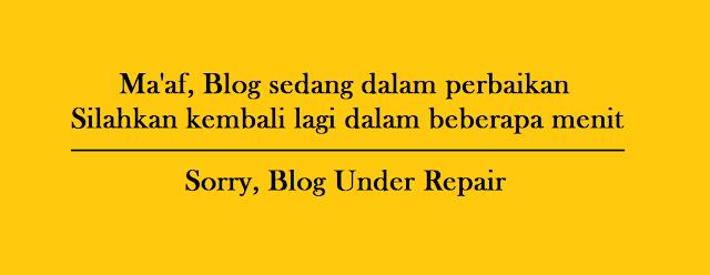 Cara Membuat Pemberitahuan Blog Dalam Perbaikan Cara Membuat Pemberitahuan Blog Dalam Perbaikan
