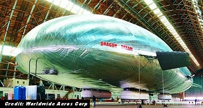 Massive Airship Test May Spur UFO Reports