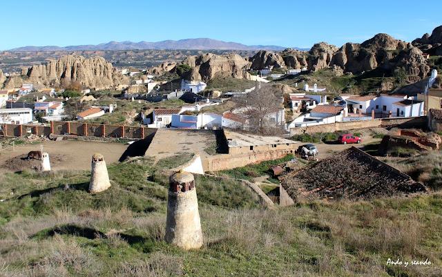 Baarrio de las Cuevas. Guadix