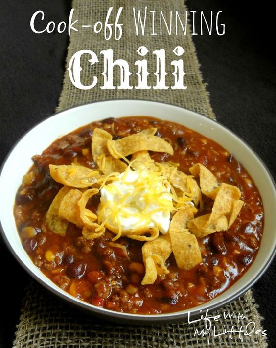 Cook-off #Winning #Chili