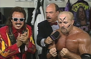 WCW The Great American Bash 1996 - Mean Gene interviews Jimmy Hart & The Taskmaster Kevin Sullivan
