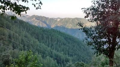 Mashobra in Himalayas